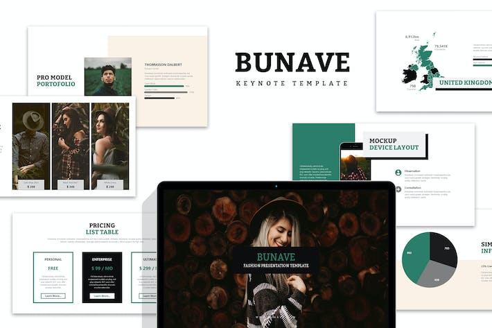 Thumbnail for Bunave : Nature Fashion Lookbook Keynote