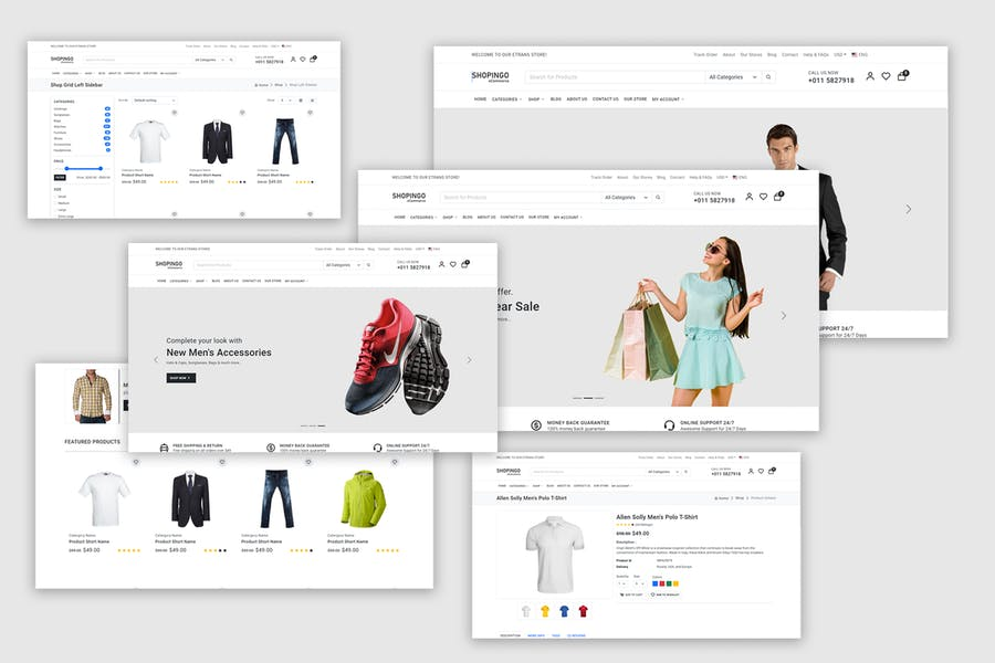 Shopingo - eCommerce HTML Template