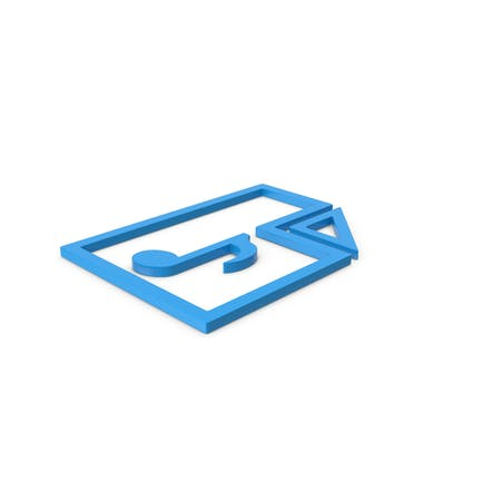Blue Symbol Audio File