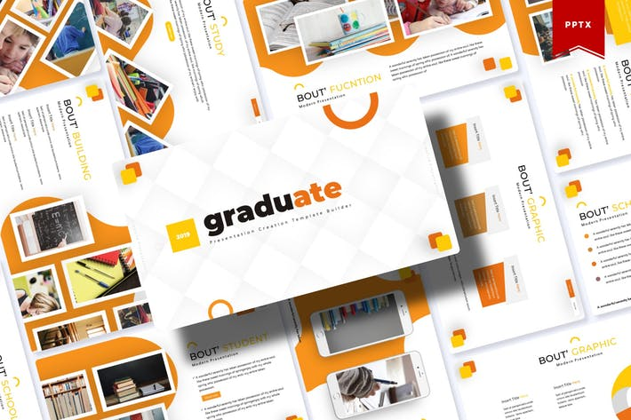Thumbnail for Graduate | Powerpoint Template