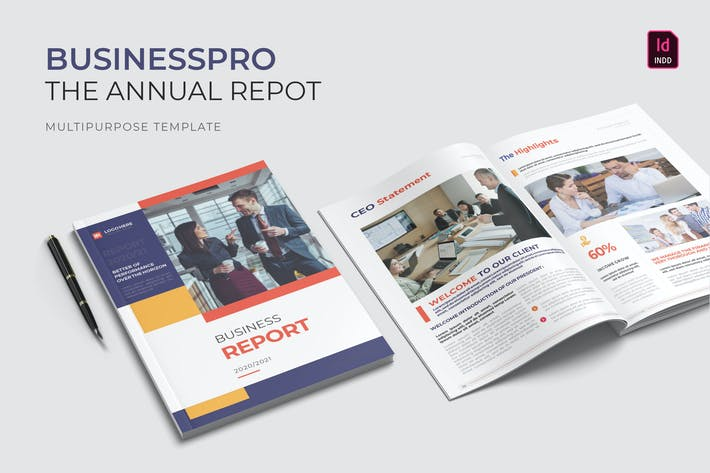 Thumbnail for Businesspro | Annual Report