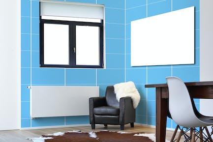 Contempory Interior-Mockup