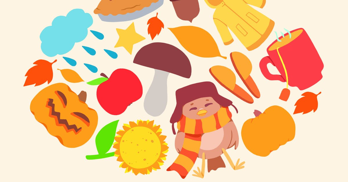 Download Autumn Symbols by Jumsoft