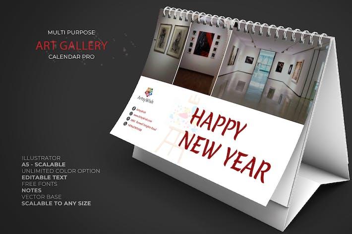 Thumbnail for 2020 Art Gallery Calendar Pro