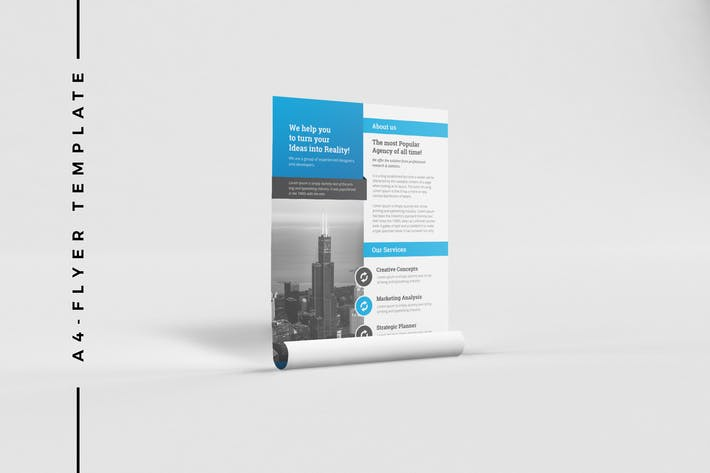 Thumbnail for Corporate Business Flyer 038