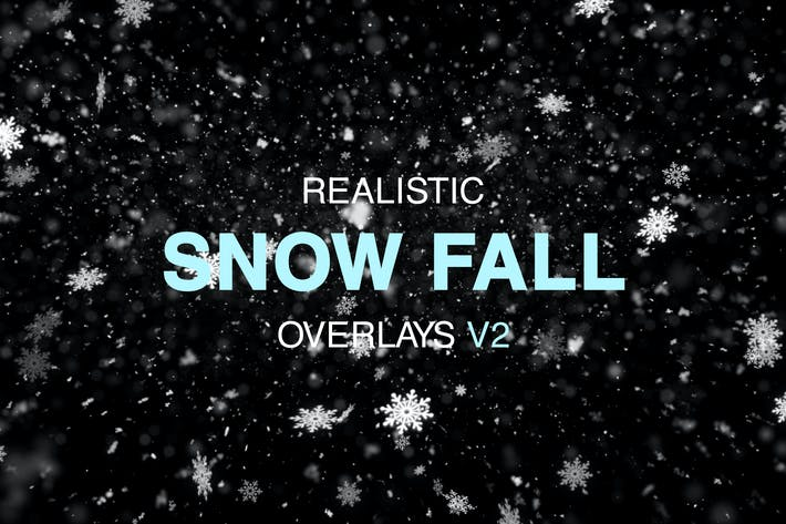 Thumbnail for Snow Overlays V2