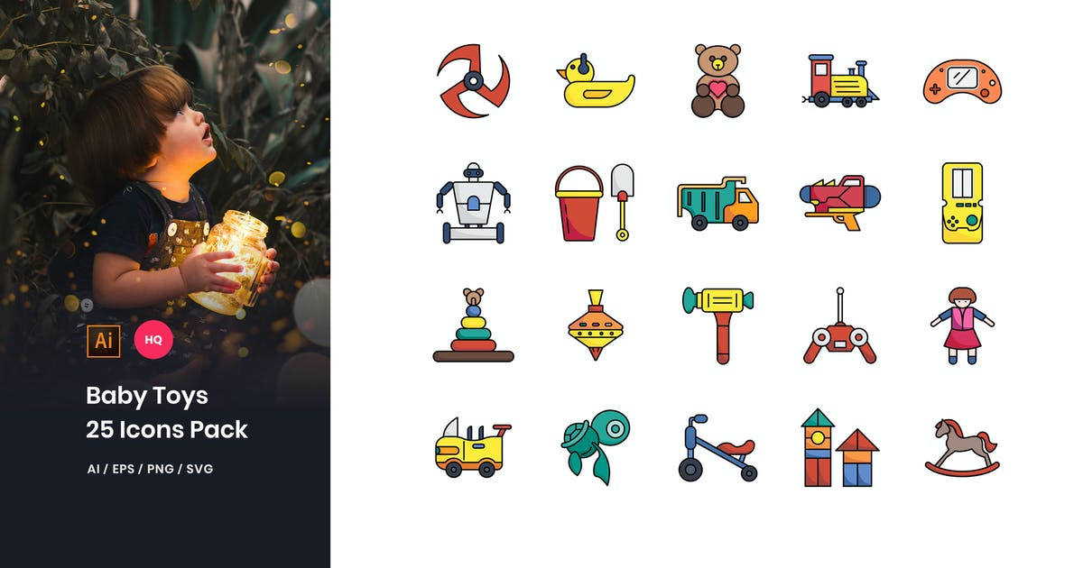 Download Baby Toys Icons Pack by StringLabs