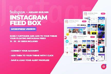 Instagram Feed Box WordPress Plugin
