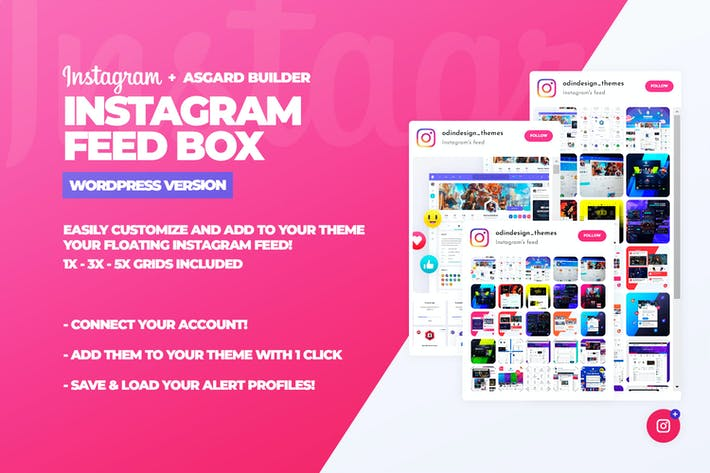 Instagram Feed Box WordPress Plugin