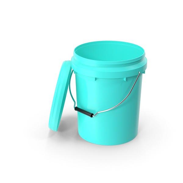 Food Grade 10L Plastic Bucket
