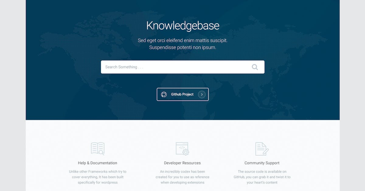 Download Knowledge - Knowledgebase & Documentation HTMl Tem by xvelopers