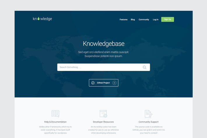 Download 7 documentation website templates envato elements thumbnail for knowledge knowledgebase documentation html tem maxwellsz