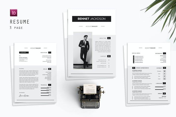 Bennet Resume Designer
