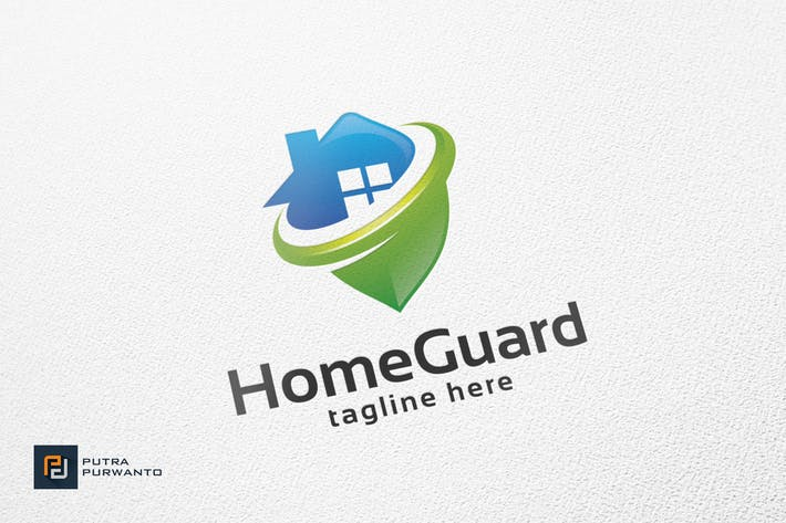 Thumbnail for Home Guard - Logo Template