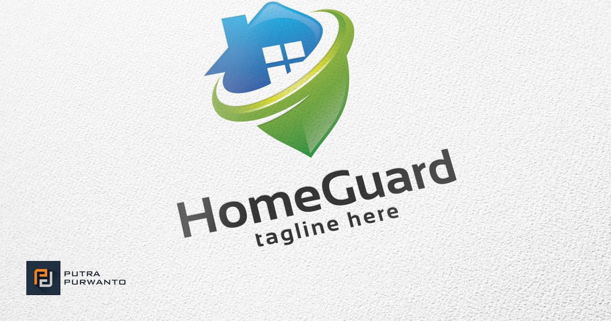 Download Home Guard - Logo Template by putra_purwanto