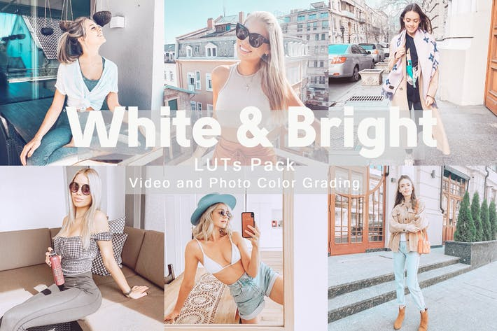 Cover Image For White&Bright -  LUTs Pack