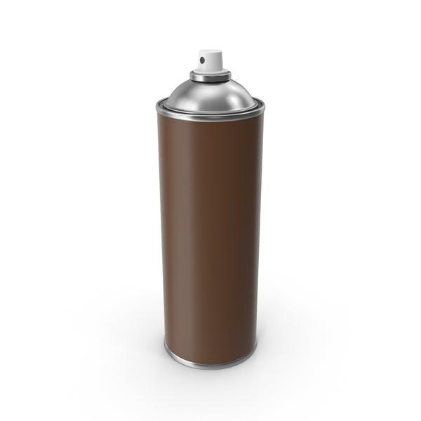 Brown Spray Can No Cap