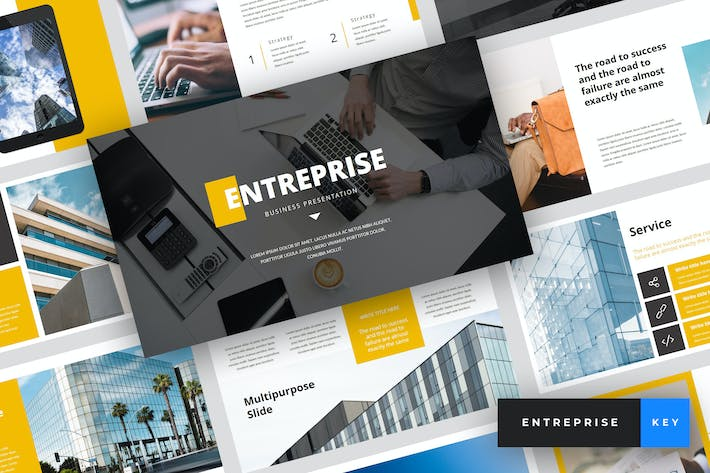 Thumbnail for Entreprise - Business Keynote Template