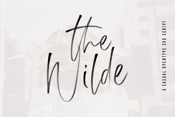 Thumbnail for The Wilde | SVG Signature Script