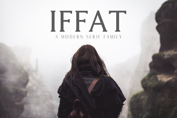 Thumbnail for Iffat A Modern Serif Family