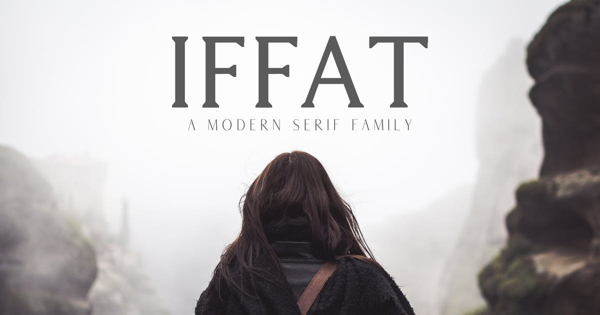 Download Iffat A Modern Serif Family by creativetacos