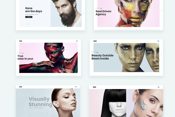 Thumbnail for Adios | Portfolio WordPress Theme