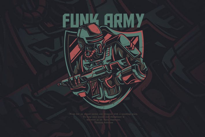 Cover Image For Funky Army