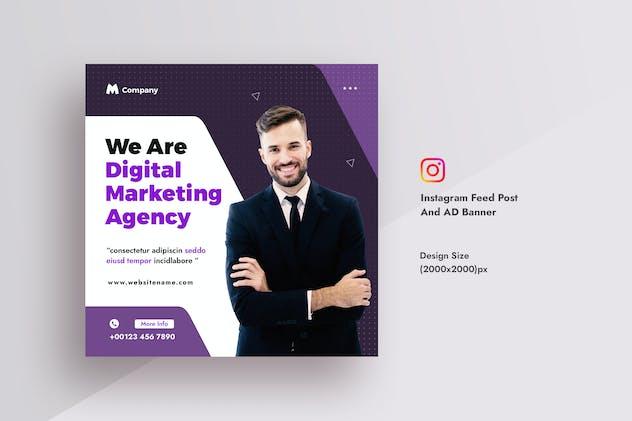 Business & Digital Agency Instagram Feed Post