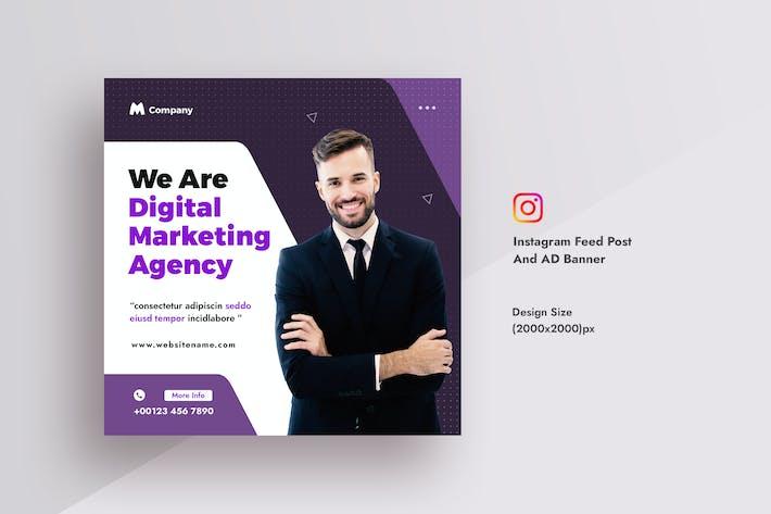 Wirtschafts- und Digitalagentur Instagram Feed Post