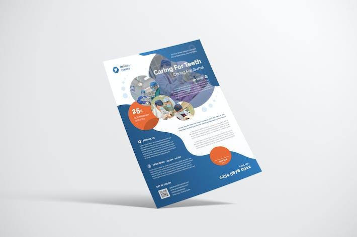 Thumbnail for Dentist Clinic Flyer Design