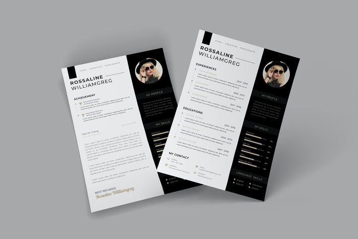Cover Image For Modern  CV Resume