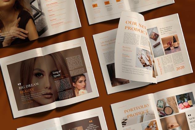Beauty Magazine - Cosmetic / Skincare Catalog