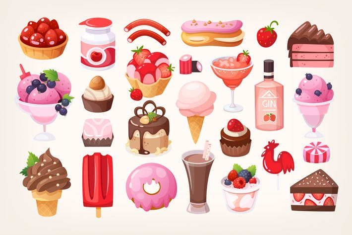 Thumbnail for Fruit and chocolate desserts. Part 2