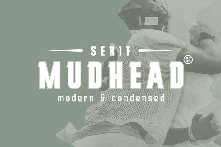 Thumbnail for Mudhead Serif Typeface