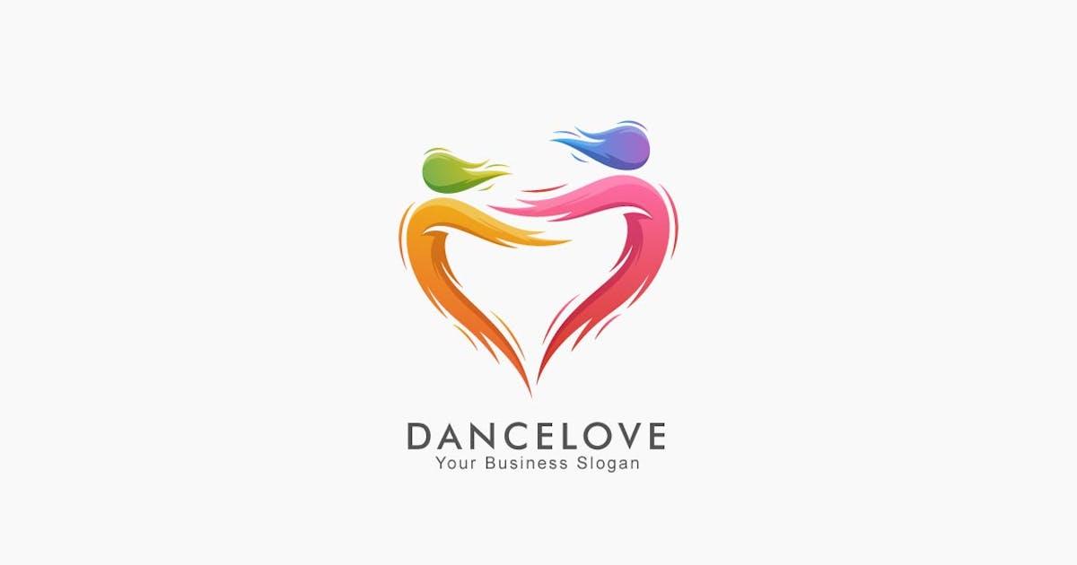 Download Abstract Dance Love Colorful Logo by ivan_artnivora