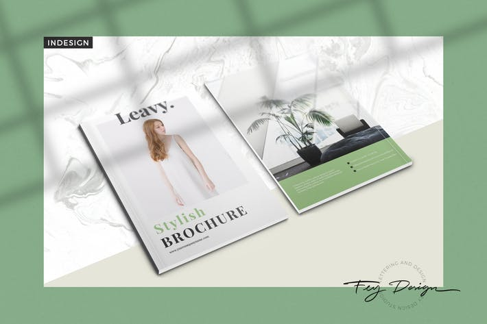 Cover Image For Leavy - Multipurpose Brochure