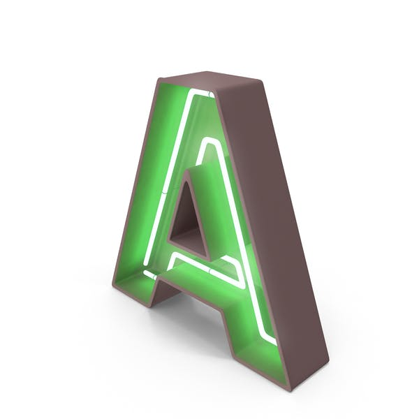 Thumbnail for Neon Letter A