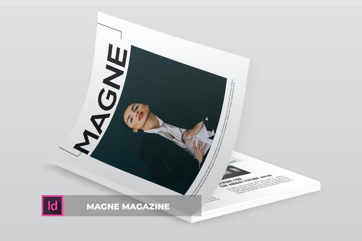 Thumbnail for MAGNE | Magazine Template