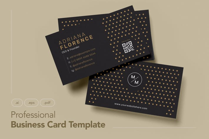 Thumbnail for Professional and Minimalist Business Card V.12