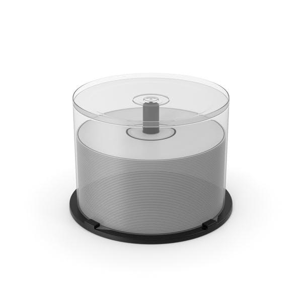 Caja para tartas de DVD/CD