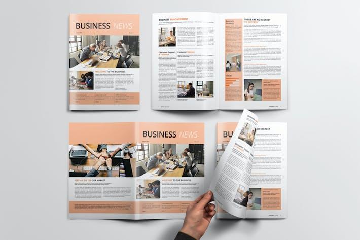 Thumbnail for Business Newsletter