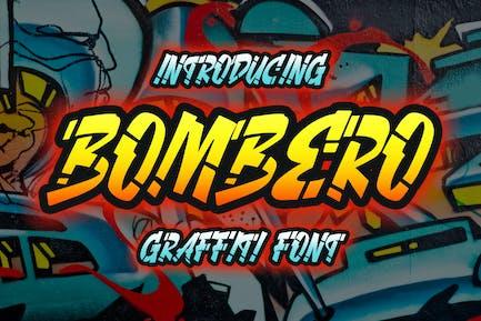 Bombero - Graffiti Font
