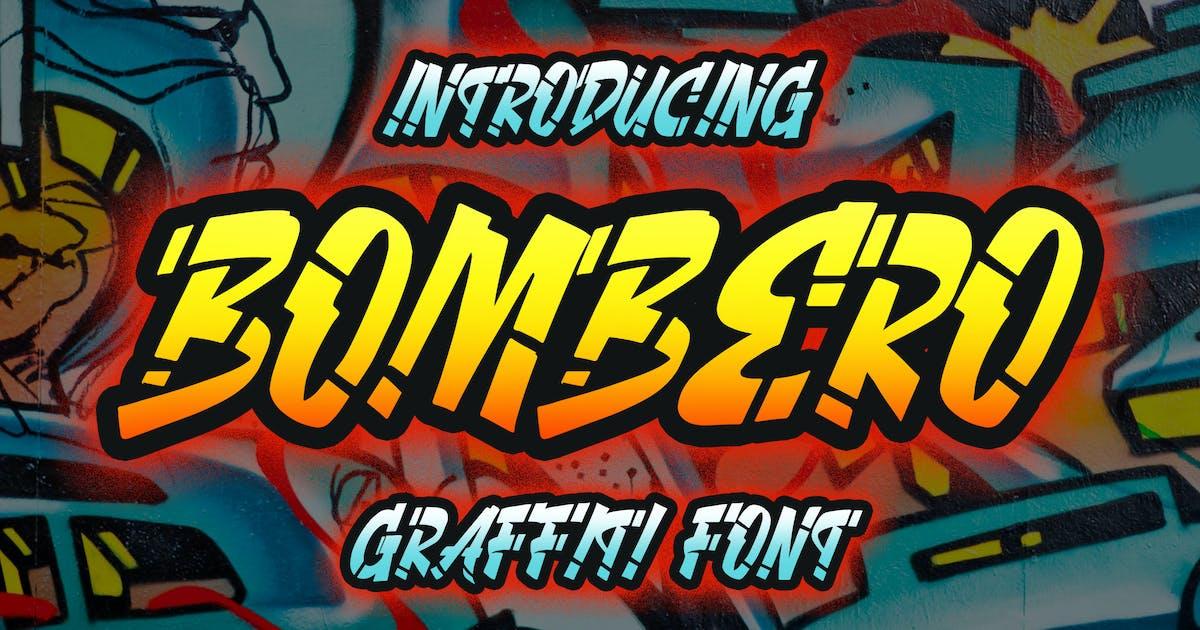 Download Bombero - Graffiti Font by Blankids