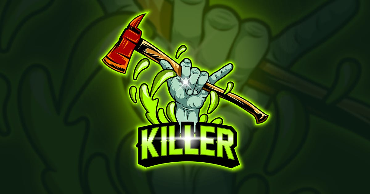Download Killer - Mascot & Esport Logo by aqrstudio