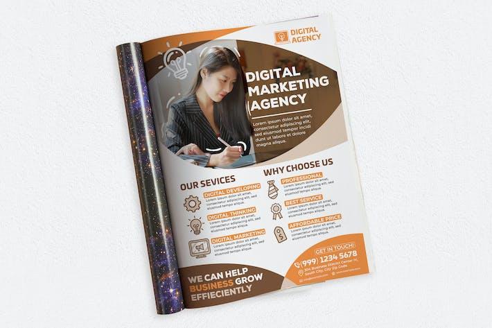 Thumbnail for Digital Marketing Agency Ads Magazine