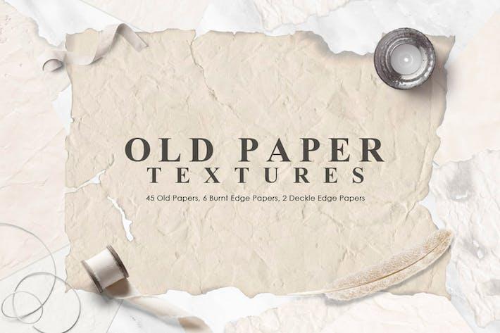 Texturas de papel antiguas
