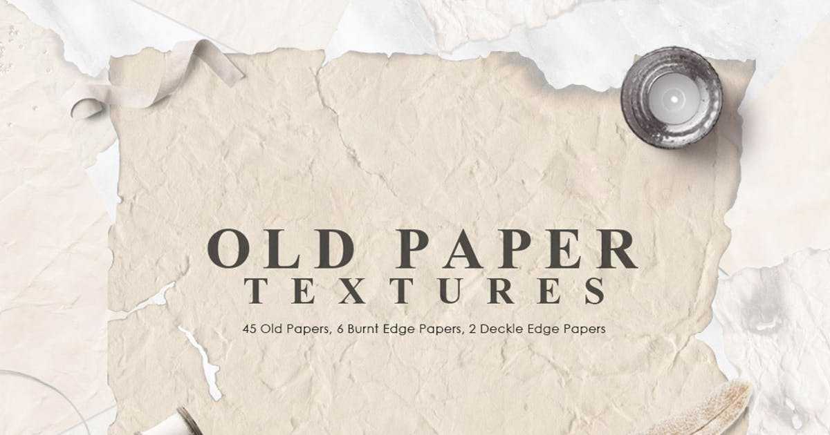 Download Old Paper Textures by NassyArt