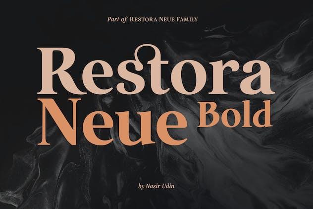 Restora Neue Bold