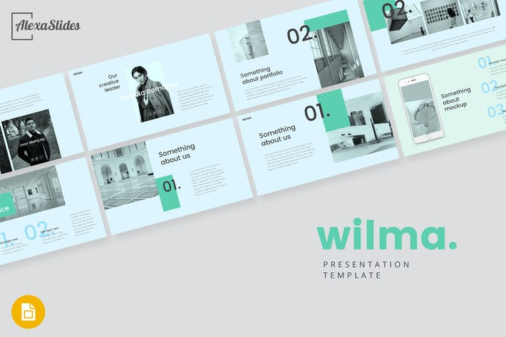 Cover Image For Wilma - Google Slides Presentation Template