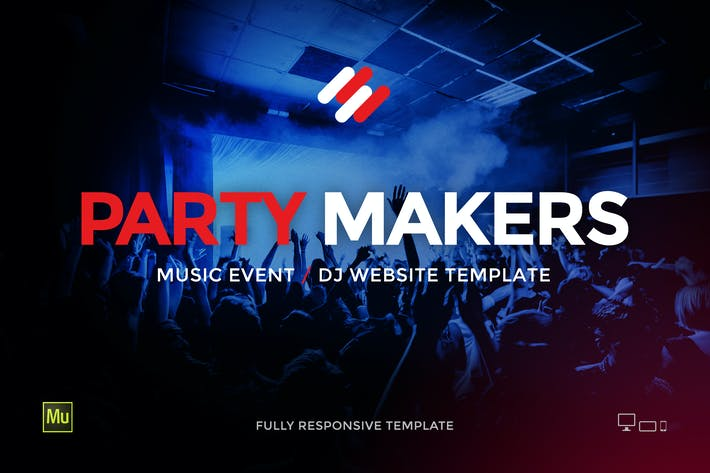 Thumbnail for Party Makers - DJ / Music Event / Festival Site